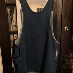 ASOS Curve Dresses - ASOS Curve denim overall dress